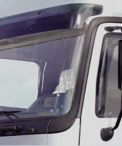 Trucks sun visor